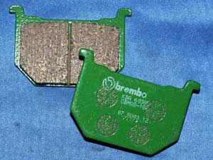 07.SU03.12 Brembo Front Brake pads equivalent to FA51 new