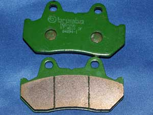 07.HO10.SP Brembo brake pads equivalent to FA69/3 new