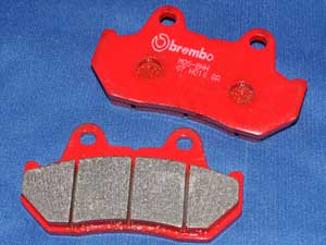 07.HO10.SA Brembo brake pads equivalent to FA69/3 new