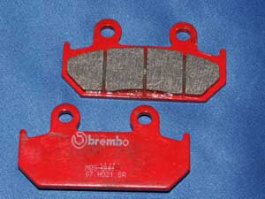 07.HO21.SA brake pads same shape as FA121 new