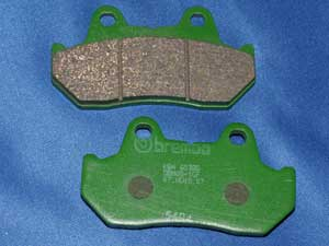 07.HO18.07 Brembo brake pads equivalent to FA69/3 new