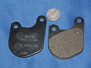 07.HD05.07 Brake pads equivalent to FA71 new