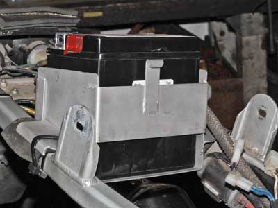 Battery box norton F1 F1 sport