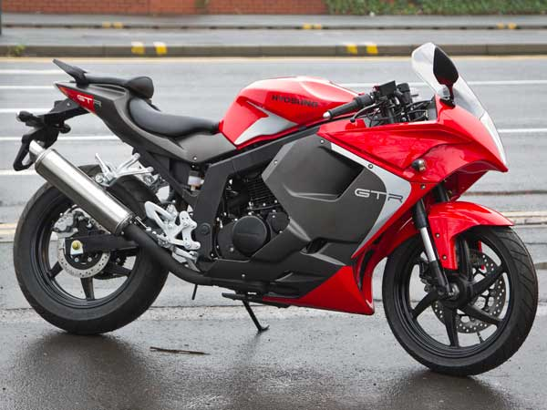 Hyosung GT125R Super Sports 66 plate pre-registered
