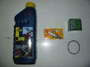 Service kit Hyosung GT125 and GT125R STAHY002