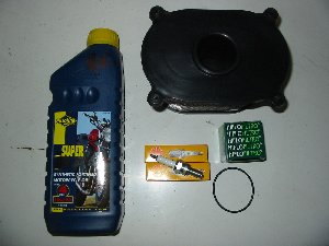 Service kit including air filter Hyosung GT125 GT125R