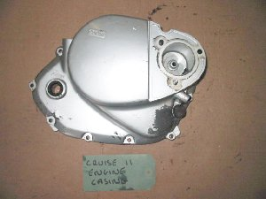 Clutch cover right hand engine casing hyosung cruise 2 used