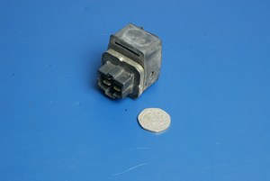 Starter relay 4 pin connector used