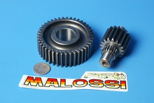 Gear-up kit secondary gear Malossi 6711060 new shop soiled