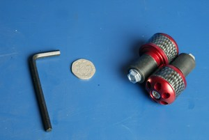 Bar end weights Barrel Red BE106