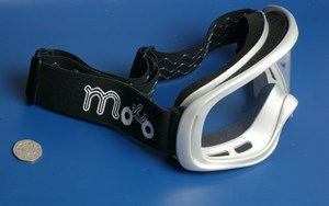 Motocross MX goggles green new