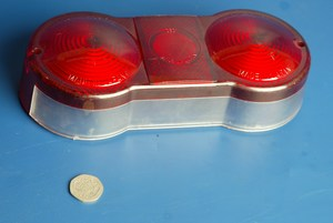 Rear light lens Suzuki GT 550 new old stock