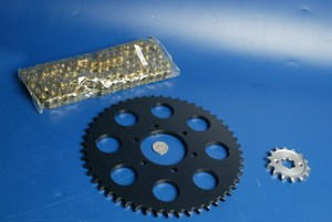Chain and sprocket kit IGM 2411-8012 new