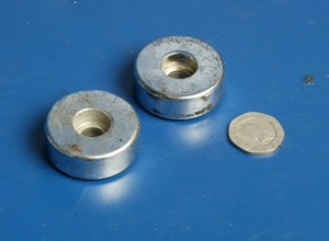 Bar end weights Hyosung Cruise 2 used