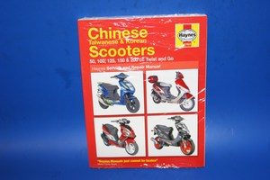 Chinese, Taiwanese and Korean Twist and Go Scooter manual