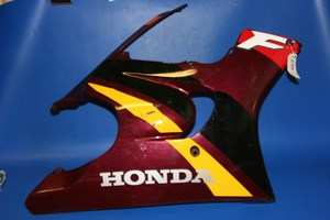 Right hand fairing lower Maroon 64300