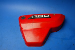 Sidepanel left hand in red Suzuki A100