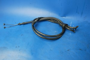 Throttle cables pair used Yamaha XJ600 Diversion