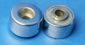 Bar end weights used Hyosung Hyper Grand Prix 125