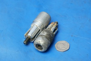 Bar end weights used Peugeot Speedfight 2