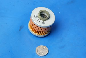 Oil filter genuine Piaggio new 737492