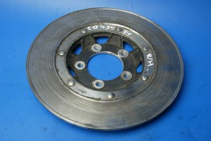 Front brake disc right hand used Honda CB450DX