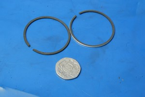 Piston rings set 40mm new Malaguti F10 F12 Centro 77112000