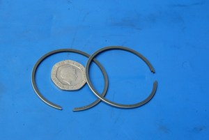 Piston rings new Suzuki TS50ER