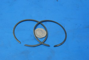 Piston rings new 1mm Honda MTX125