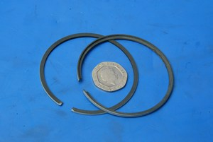Piston rings new 0.5mm oversize Yamaha DT125 MX