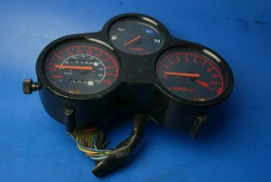 Clocks instrument panel used damaged casing Honda NSR125 FK