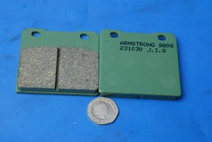 Armstrong Standard Brake pads same shape as EBC FA103 new