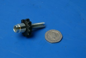 Clutch lever adsjuster screw and nut new Royal Enfield 141674