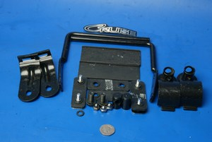 Screen mounting kit used Hyosung Cruise 2