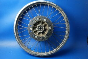 Rear wheel used Suzuki TS125