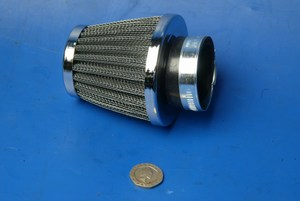 Power cone airfilter 54mm new