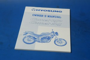 Owners Manual Hyosung GT125 GT250