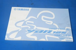Owner's manual Yamaha YBR125 used
