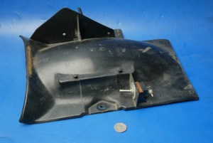 Underseat rear mudguard Yamaha SR125 used