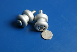 Support bobbins M8 by 1.25 new