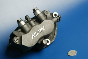 Brake caliper right front Nissin Honda CBR1100xx blackbird used