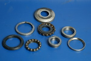 Bearing set steering head Yamaha XVS125 Dragstar used [Yamaha XVS125