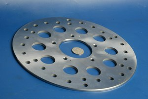 Brake disc front IGM 2009-0617 new