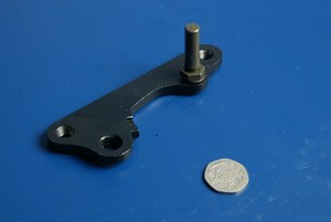 Caliper mounting bracket in black new