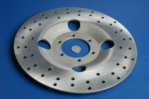 Brake disc front 2030-2463 new
