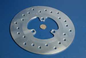 Brake disc Derbi 50 racing rear 2005-0328 new