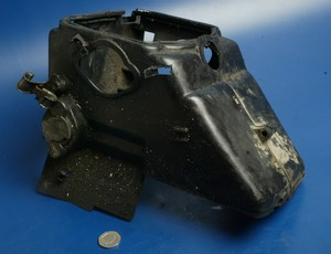 Engine cooling cowling Kymco Heroism 125 used