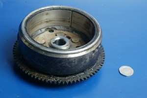 Flywheel and starter ring gear Honda NSR125 used