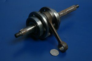 Crankshaft crank shaft Piaggio Zip 50 used