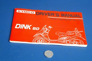 Kymco Dink50 owners manual
